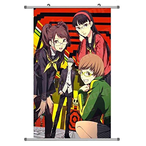 Kujikawa Rise (Eine Vielzahl von Persona 4Anime Zeichen Wall Scroll Aufhängen Decor (Amagi Yukiko & Satonaka Chie & Kujikawa Rise 1))