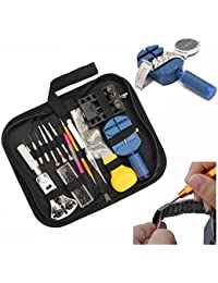 BABAN 144Pcs Watch Repair Tool Set Kit:Case Opener Lin Pin Remover Holder Spring Bar