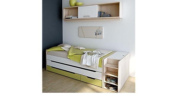 Wellemöbel Unlimited Kojenbett mit Gästebett und Schubladen: Amazon ...
