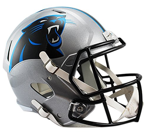 Riddell Carolina Panthers Replica NFL Speed Full Size Helm