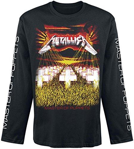 Metallica Master Of Puppets Manica lunga nero XXL