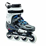Rollerblade RB Twister Pro Limited Urban/SUV Skate, Grey/Blue, US Size 10.5 by Rollerblade