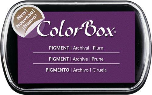 Clearsnap ColorBox klassisches Stempelkissen mit Pigmentfarbe, vollständige Größe, Boysenbeere Pflaume