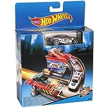 Hot Wheels - Set de juegos básicos, Tollbooth Takedown (Mattel CDM45)