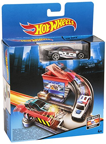 Hot Wheels - Set de Juegos básicos, Tollbooth Takedown (Mattel CDM45)