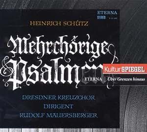 Mehrchörige Psalmen (Kulturspiegel-Edition)