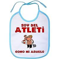 Babero Atlético de Madrid soy del atleti como mi abuelo