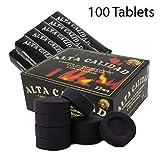 SFY Pack Carbón para cachimba, Shisha, Hookah, narguile e incensario (100 Pastillas)