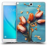 Official Olivia Joy StClaire Orange Tulips On The Table Soft Gel Case for Samsung Galaxy Tab A 9.7