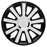 FLASH BLACK WHITE - 16 Zoll, passend für fast alle VW z.B. für Tiguan 5N