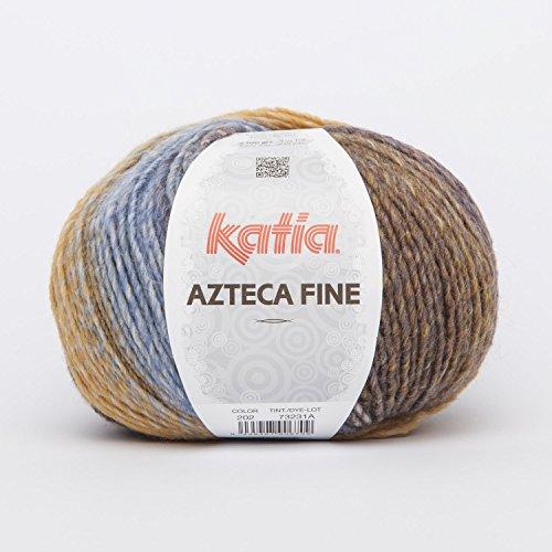 Azteca Fine Garn von Katia in senf/braun (202) -