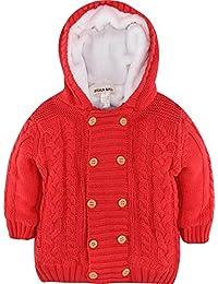 ZOEREA cardigan bébé manteau bebe garçon Pulls bébé fille gilet vêtements de cérémonie chandails de Noël Veste d'hiver Sweater