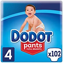 Dodot Pants - Pañal-Braguita Talla 4, (9-15 kg),
