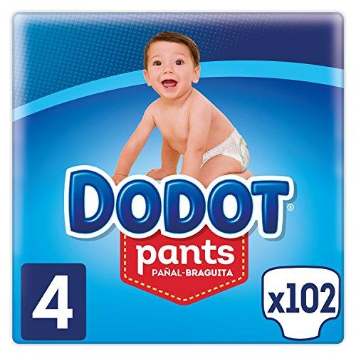 Dodot Pants - Pañal-Braguita Talla 4,( 9-15
