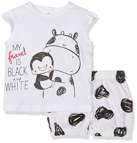 Chicco Baby-Jungen Thermounterwäsche-Set 9077427000000, Weiß (Bianco), 62 (Herstellergröße: 062)