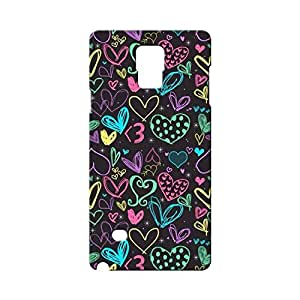 BLUEDIO Designer Printed Back case cover for Samsung Galaxy Note 4 - G1458