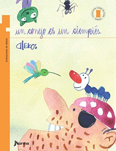 Un conejo es un ciempiés (TORRE NARANJA) (Torre de papel: Torre naranja/ Orange Paper Tower) por Alekos