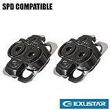 Exustar E-C01F Shimano SPD Compatible Bike Pedal Cleats