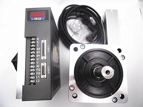 Servo Motor Driver Kit 3,8kW nema522500R/min 15Nm CNC controller Kit mit 3M Kabel