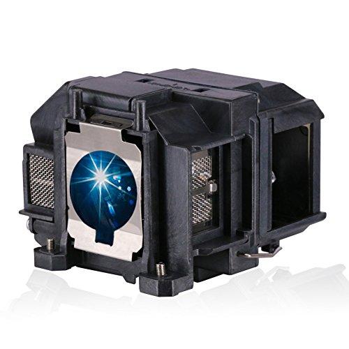 Bombilla de lámpara Loutoc V13h010l67 para Epson Elplp67 EB S02 Bombilla de lámpara EB S02H EH TW480 de proyector Reemplazo