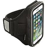Sporteer Velocity V7brazalete para iPhone 7Plus, iPhone 6S Plus y iPhone 6Plus, negro, S/M (S/M)