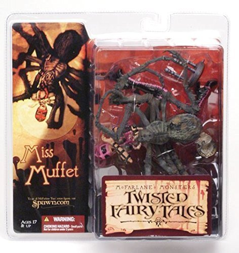 Kind Miss Kostüm Muffet - McFarlane Monsters- Twisted Märchen-Miss Muffet