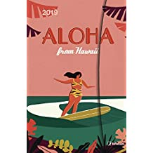 LEotiE SINCE 2004 K/ühlschrankmagnet Urlaub Reiseb/üro Hawaii Surf