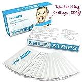 Teeth Whitening Strips - Zero Peroxide - Fluoride Free - Whiten Teeth - Enamel Safe! Promising Shades Whiter for That Whiter Smile You
