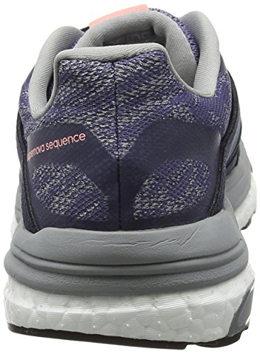 adidas Supernova Sequence 9 W, Scarpe Running Donna Viola (Super Purple/silver Metallic/mid Grey)