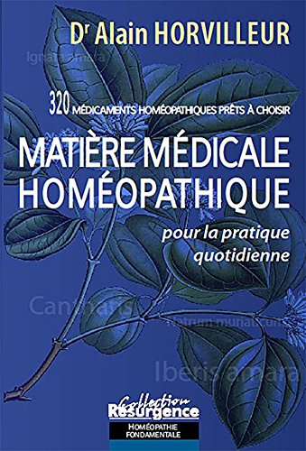Matire mdicale homopathique