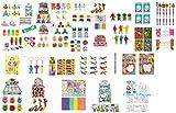 geo-versand Mädchen Jungen Spielzeug Adventskalender Mitgebsel Mitbringsel Dinosaurier Krone Perlen bastelnKindergeburtstag (25 Teile Mädchen)