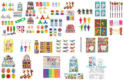 Geo-Versand® Mädchen Jungen Spielzeug Adventskalender Mitgebsel Mitbringsel Dinosaurier Krone Perlen bastelnKindergeburtstag (10 Teile Mädchen)