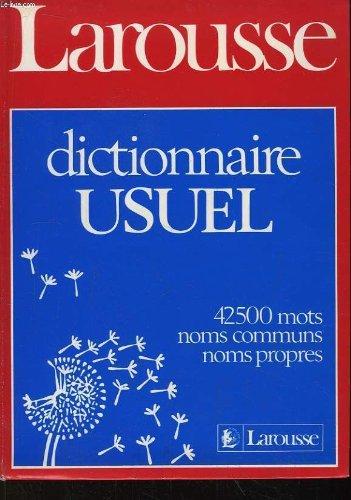 Dictionnaire usuel par Collectif