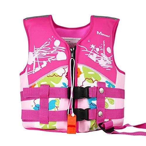 Giacca da Nuoto per Bimba Bimbo - Giubbotto Nuoto Gilet Galleggiante per Bambino Bambina Imparare a Nuotare