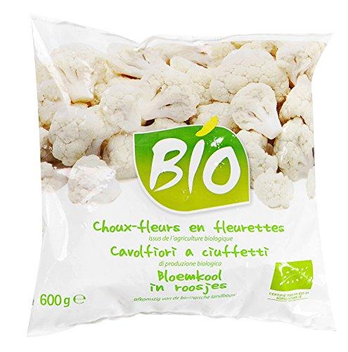 Choux-fleurs en fleurettes BIO - 600 g - Surgelé