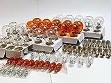 90x Stück - WERKSTATTWARE SET - ( 10x P21/5W + 10x P21W + 10x PY21W + 10x R10W + 10x W16W + 10x W5W + 10x WY5W + 10x C5W + 10x C10W ) 12V KFZ Beleuchtung - LONGLIFE - Glühlampe, Glassockellampe, Glühbirne, Soffitte, Autolampen vom INION®