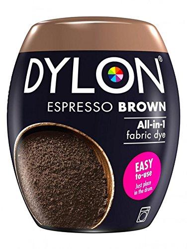 Dylon Textilfarbe Maschine Pod Espresso Braun
