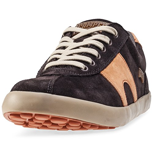 Camper Uomo Dark Marrone Pursuit Scamosciato Sneaker-UK 9