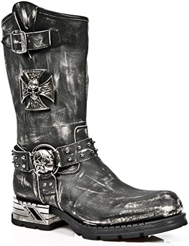 Donna   Uomo Stivali Nero Rock Rock Moto Rock Rock Rock Prezzo moderato Nuovo design semplice | Moderno Ed Elegante Nella Moda  | Uomo/Donna Scarpa  5100dc