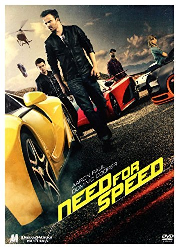 Need for Speed [DVD] [Region 2] (English audio) by Aaron Paul