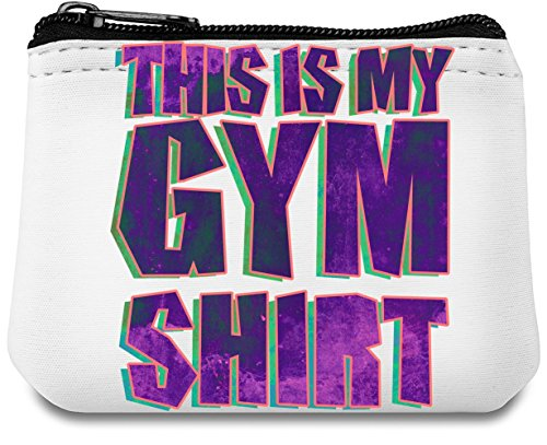 This Is My Gym Shirt Neopren Geldbeutel (Street Life T-shirt)