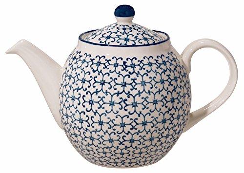 Théière Kristina, Bloomingville, Céramique / contient 1,2 litres