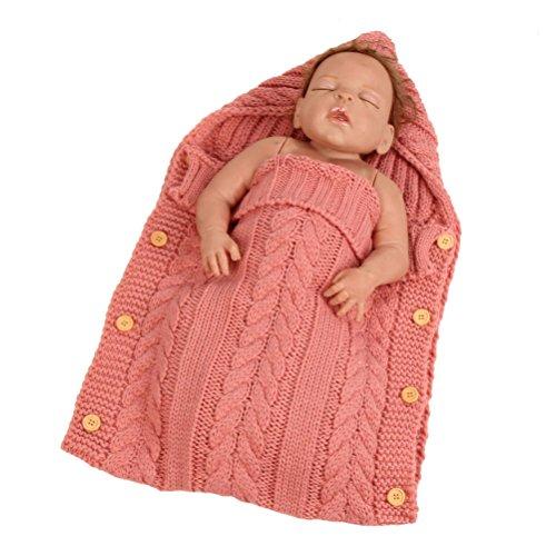 Yeahibaby baby wickeldecke,Swaddle Decke Schlafsack Kinderwagen Wrap für 0-12 Monat Baby