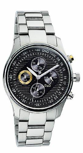 DG-DolceGabbana-DW0430-Reloj-crongrafo-de-caballero-de-cuarzo-con-correa-de-acero-inoxidable-plateada-cronmetro-sumergible-a-50-metros