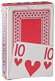 Cartamundi 106313101–extra visibile ponte formato (56x 87mm)–55carte da gioco–Gioco da tavolo–francese–Faces case