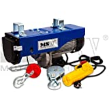 MSW Motor Technics - PROLIFTOR 600 - Polipasto - 600 kg - 1.200 W - Envío Gratuito