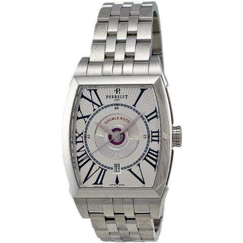 Perrelet Men's A1029/A Double Rotor Watch