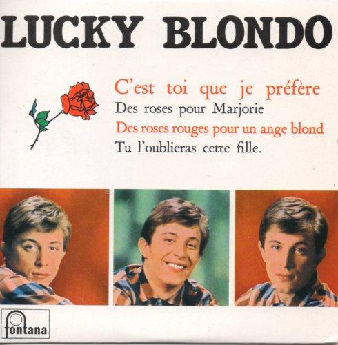 C'est toi que je prefère 4-track CARD SLEEVE - 1) Des roses pour Marjorie 2) Des roses rouges pour...
