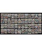 Goldhahn DDR - 400 komplette Sätze gestempelt in 3 Alben Briefmarken für Sammler