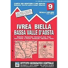 IGC Italien 1 : 50 000 Wanderkarte 9 Val d'Aosta